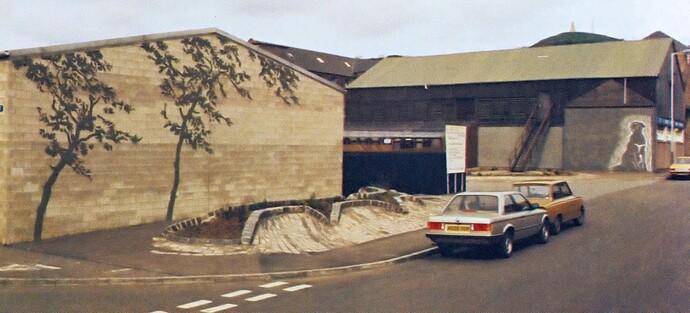 Brown St art - 1980s