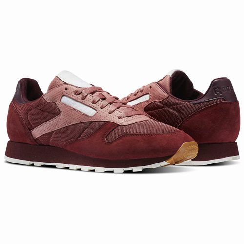 Mens%20Reebok%20Classic%20Leather%20Urban%20Descent%20Sports%20Shoes%20In%20Burgundy%20Pink%20Canada%20YS9357%201308